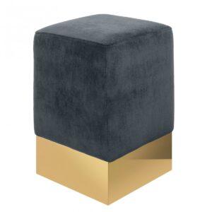 STELLA STOOL Серый пуф