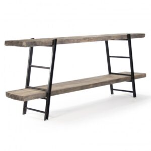 Стеллаж Industrial Iron Rustic Console