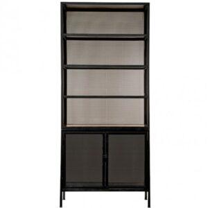Буфет Industrial Loft Dark Metal Mesh Cabinet
