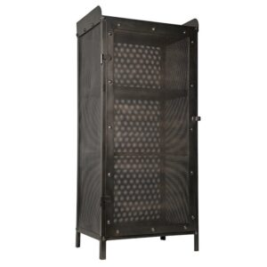 Буфет Industrial Loft Dark Metal Tall Cabinet