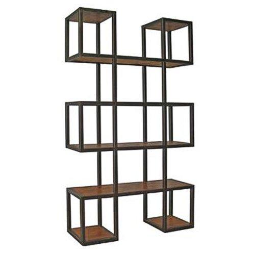 Стеллаж Industrial Loft Metal Wood Block   - фото 1