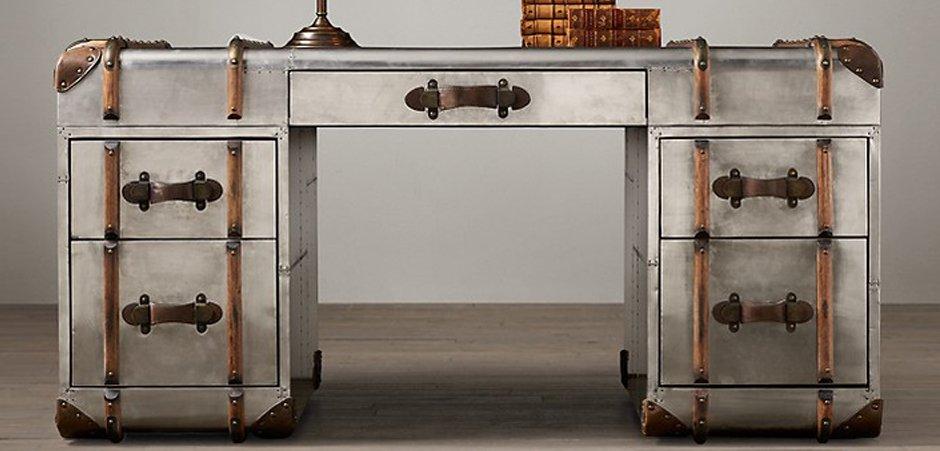 Стол RH Richards metal trunk Desks   - фото 2