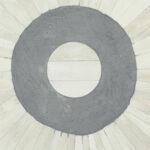 Стол кофейный отделка перламутр BONE INLAY COFFEE TABLE Grey Stripe  - фото 2