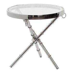 Стол Metal Bamboo Table chromium