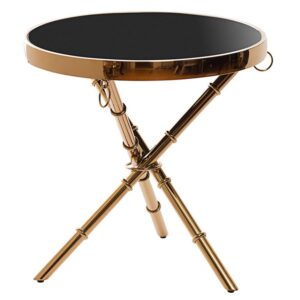 Стол Metal Bamboo Table pink gold