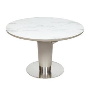 Стол раскладной White Marble