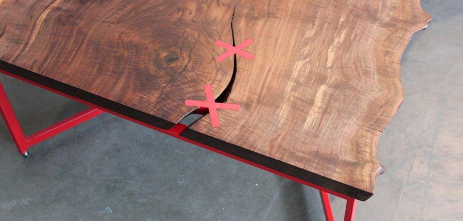 Журнальный стол Stitchet table   in 2010 - фото 3