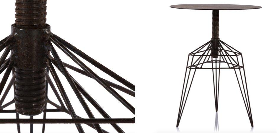 Столик Geometric Side Table   - фото 2