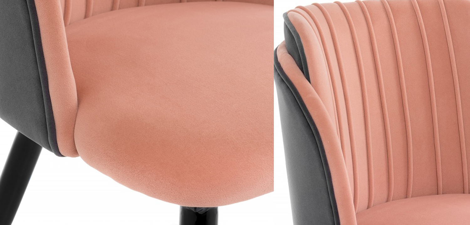 Стул Alester Chair pink  - фото 3