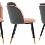 Стул Alester Chair pink  - фото 2