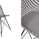 Стул Eames DSR mesh gray  - фото 2