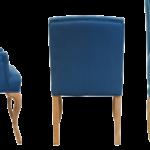 Стул French chairs Provence Amelia Blue ArmChair   - фото 2