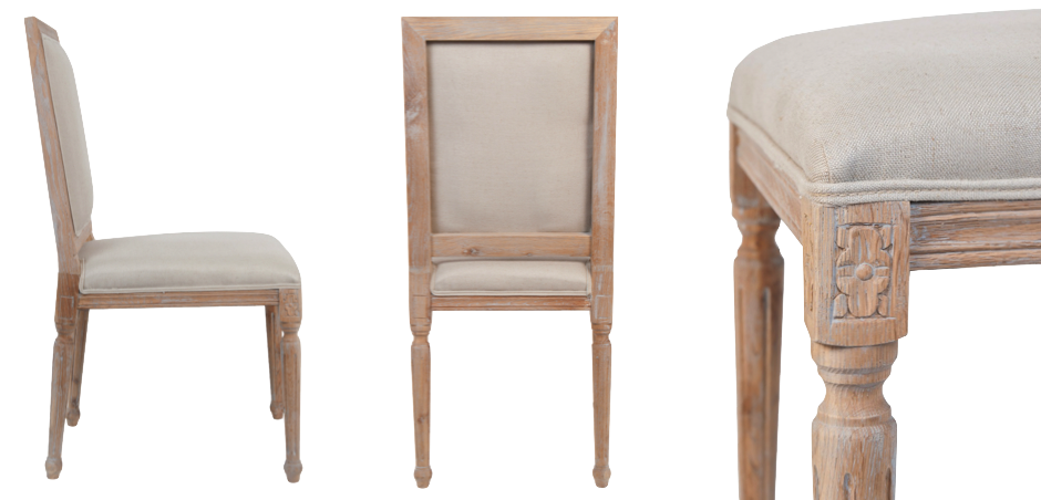 Стул French chairs Provence Garden Beige Chair   - фото 2
