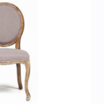 Стул French vintage chair Provence gray  - фото 2