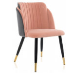 Стул Alester Chair pink  - фото 1