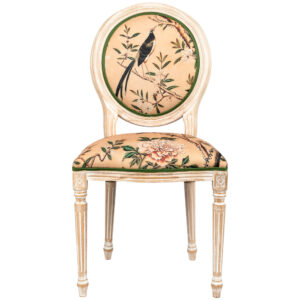 Стул Beige and Green Chinoiserie Stool