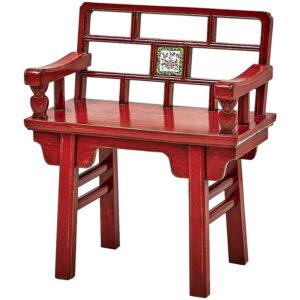 Стул Chinoiserie Red Stool