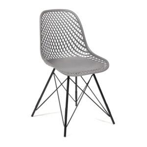 Стул Eames DSR mesh gray