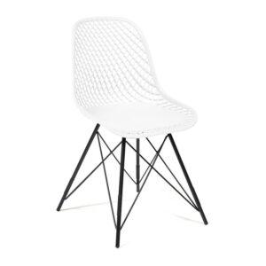Стул Eames DSR mesh white