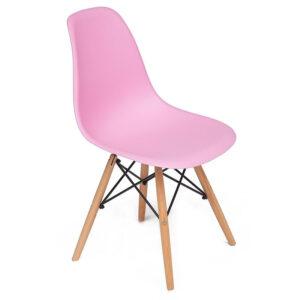 Стул Eames DSW pink