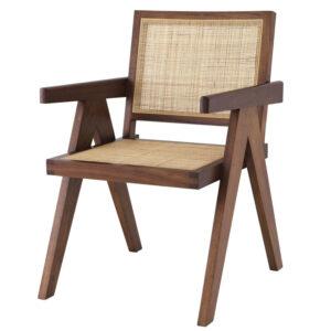 Стул Eichholtz Dining Chair Aristide brown