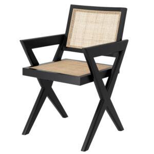 Стул Eichholtz Dining Chair Augustin black