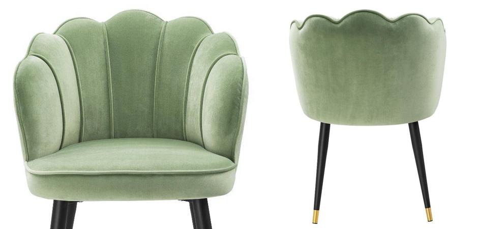 Стул Eichholtz Dining Chair Bristol pistache green  - фото 2