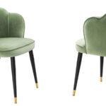 Стул Eichholtz Dining Chair Bristol pistache green  - фото 3
