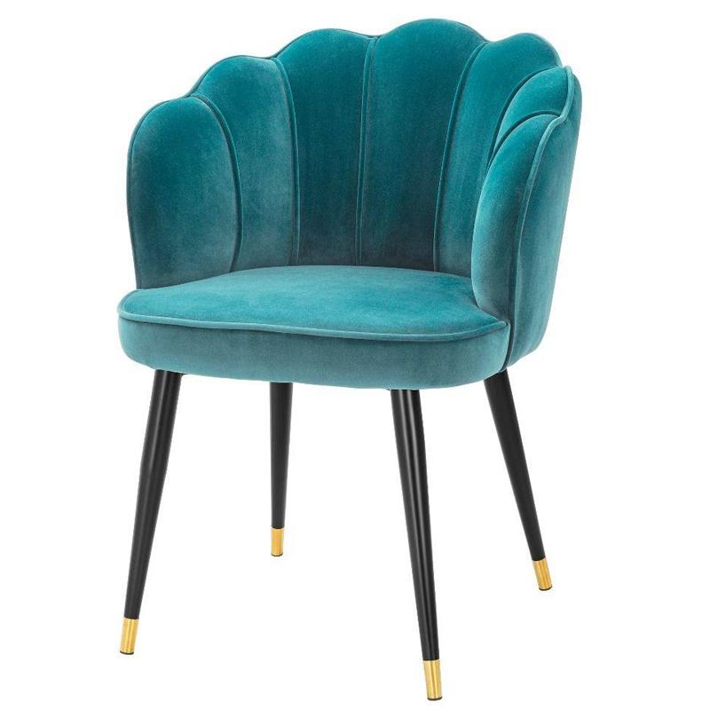 Стул Eichholtz Dining Chair Bristol sea green  - фото 1