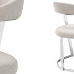 Стул Eichholtz Dining Chair Dexter Nickel  - фото 2