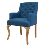 Стул French chairs Provence Amelia Blue ArmChair   - фото 1