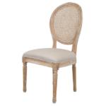 Стул French chairs Provence Beige Rattan 2 Chair   - фото 1