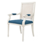 Стул French chairs Provence Garden White ArmChair   - фото 1