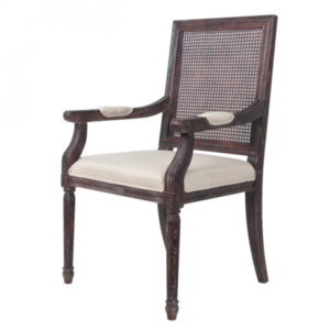 Стул French chairs Provence Garden Brown ArmChair