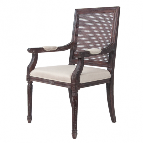 Стул French chairs Provence Garden Brown ArmChair   - фото 1