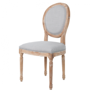 Стул French chairs Provence Light grey Chair
