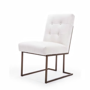 Стул обеденный Burleigh Dining Chair Pearl Iron
