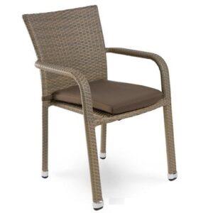 Стул Rottan chair beige