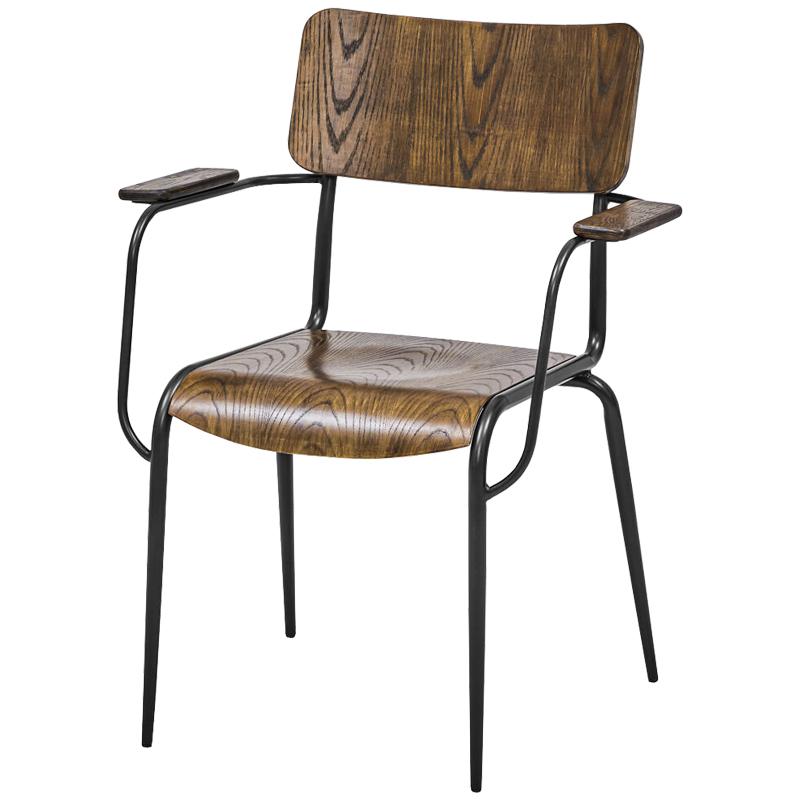 Стул с подлокотниками Joshua Loft Stool with armrests  - фото 1