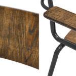 Стул с подлокотниками Joshua Loft Stool with armrests  - фото 2