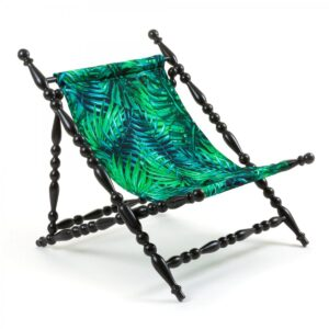 Стул Seletti Heritage Foldable Deckchair Leave