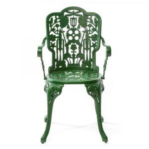 Стул Seletti Industry Collection ALUMINIUM ARMCHAIR – GREEN