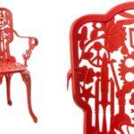 Стул Seletti Industry Collection ALUMINIUM ARMCHAIR – RED  - фото 2