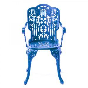 Стул Seletti Industry Collection ALUMINIUM ARMCHAIR – SKY BLUE