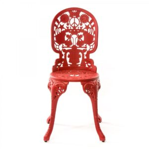 Стул Seletti Industry Collection ALUMINIUM CHAIR – RED