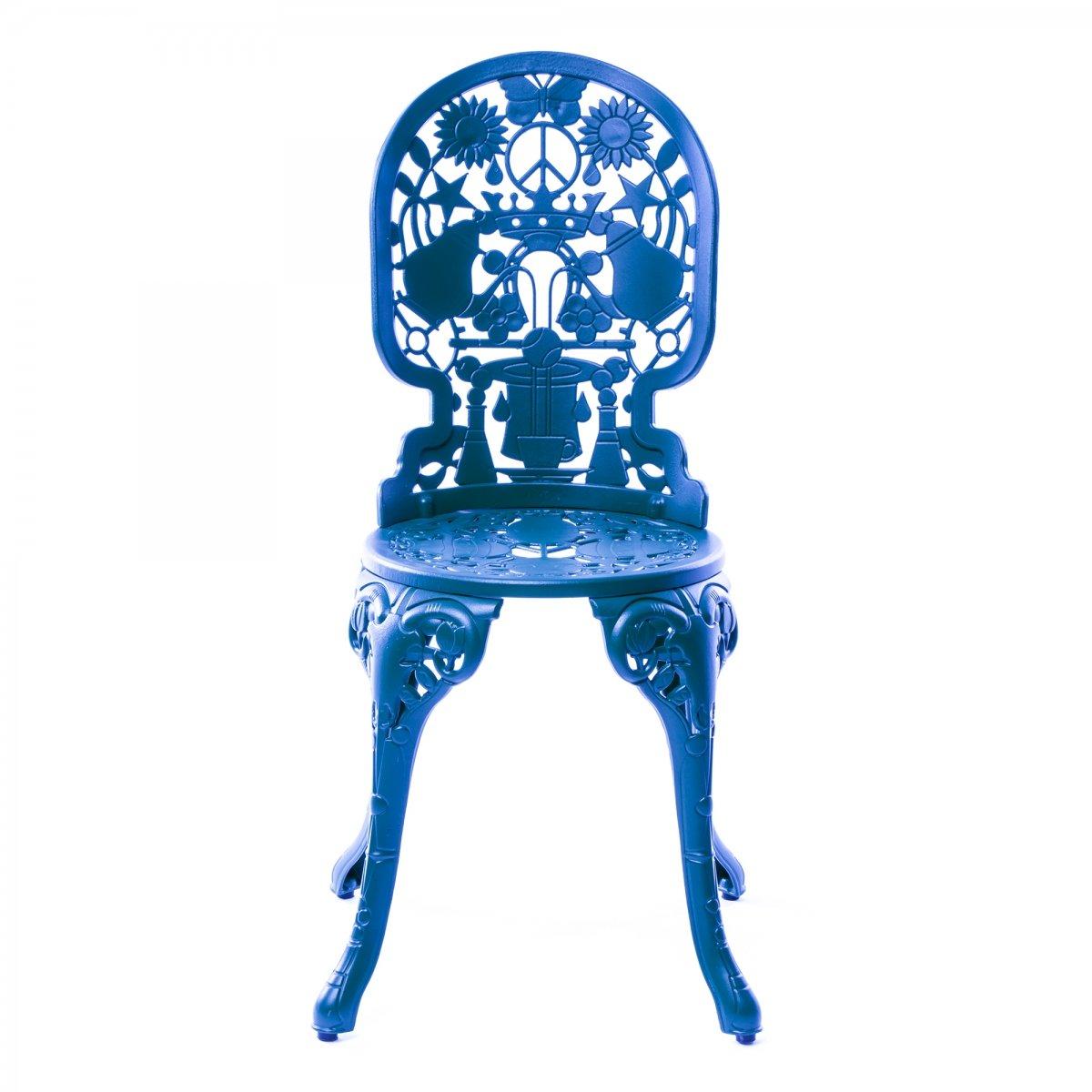 Стул Seletti Industry Collection ALUMINIUM CHAIR – SKY BLUE  - фото 1