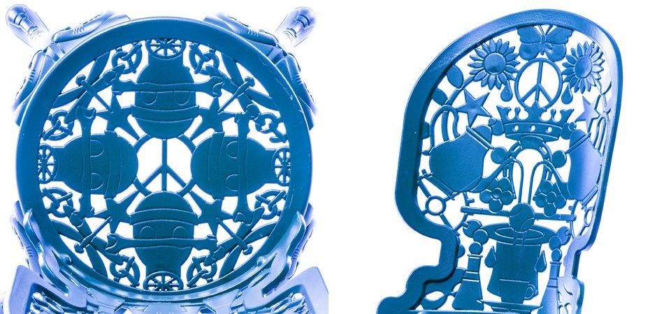 Стул Seletti Industry Collection ALUMINIUM CHAIR – SKY BLUE  - фото 2