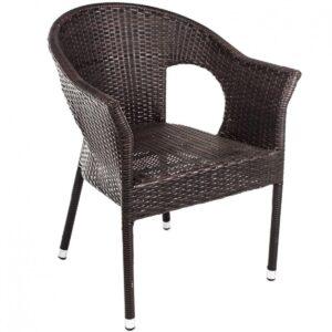 Кресло Rottan armchair brown