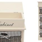 Тумба с 4 корзинами Provence Butter White 4 Boxes  - фото 2