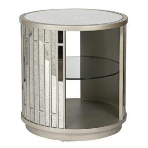 Тумба Mirror Circle Nightstand